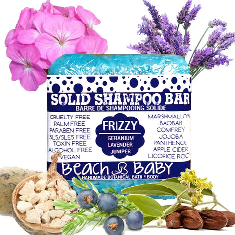 Solid Shampoo Bar - Frizzy Hair