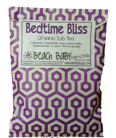 Bedtime Bliss Organic Tub Tea