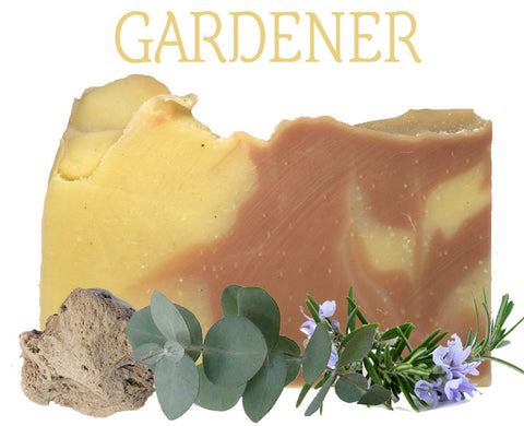Gardener 100% Natural Artisan Soap