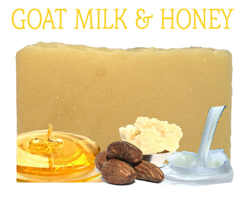 Goat Milk & Honey Natural Artisan Soap