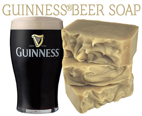 Beer Soap (Guinness®) 100% Natural Artisan Soap