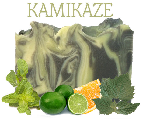Kamikaze Natural Artisan Soap