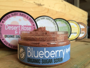 Blueberry Acai Organic Sugar Body Scrub