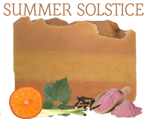 Summer Solstice Natural Artisan Soap