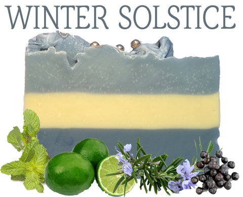 Winter Solstice Natural Artisan Soap