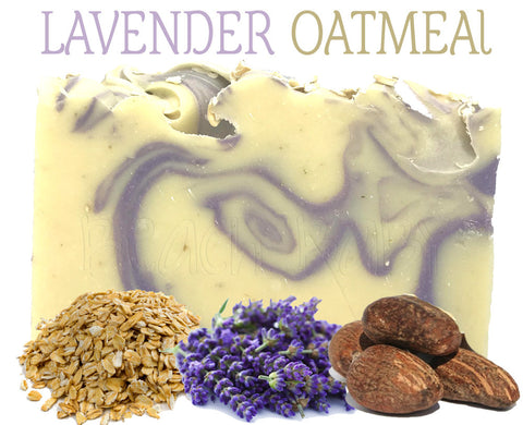 Lavender Oatmeal Natural Artisan Soap