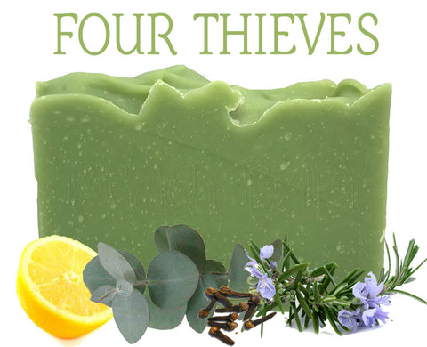 Four Thieves 100% Natural Artisan Soap