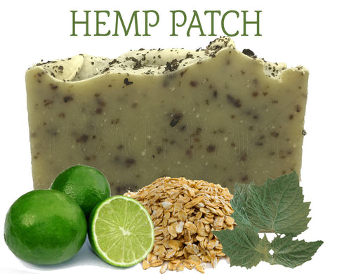 Hemp Patch Natural Artisan Soap