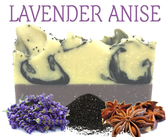 Lavender Anise Natural Artisan Soap