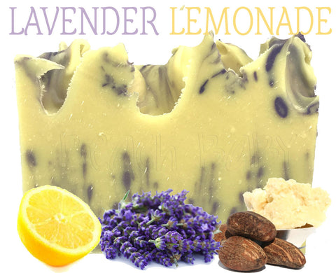 Lavender Lemonade Natural Artisan Soap