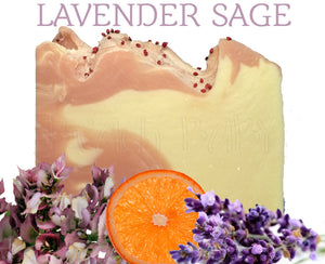 Lavender Sage Natural Artisan Soap
