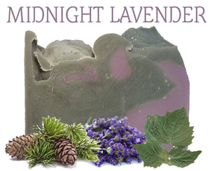 Midnight Lavender Natural Artisan Soap