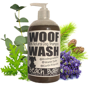 Woof Wash - 100% Natural Essential Oil Shampoo