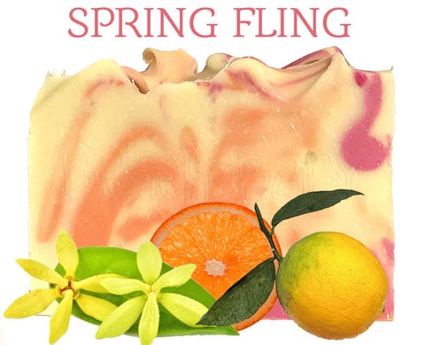 Spring Fling Natural Artisan Soap