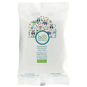 Boo Bamboo Biodegradable Baby Wipes