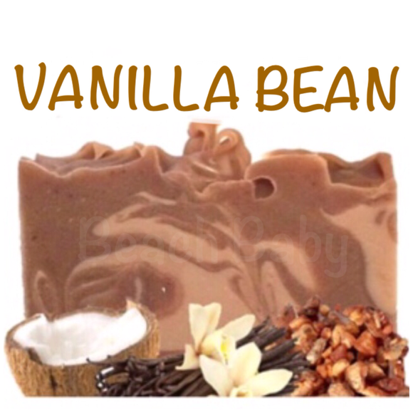 Vanilla Bean Natural Artisan Soap
