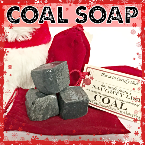 Lump of Coal 100% Natural Artisan Soap