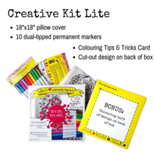 Creative Kit: Pillow Cover + Markers