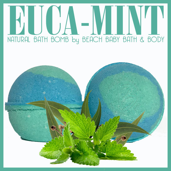EUCA-MINT Natural Bath Bomb