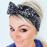 Twist of Gray Premium Wired Headbands