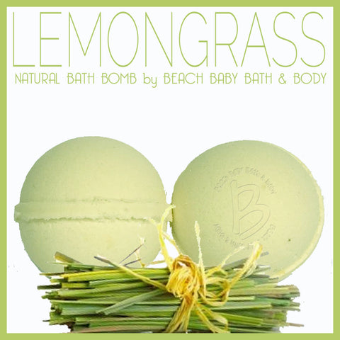 LEMONGRASS Natural Bath Bomb