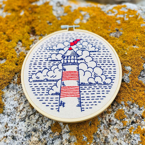 Lighthouse - Complete Embroidery Kit