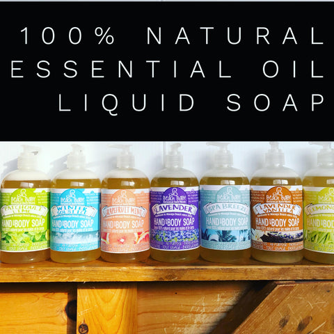 Liquid Soap - 100% Natural Essential Oil/All Purpose