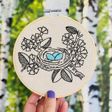 Nest Egg - Complete Embroidery Kit