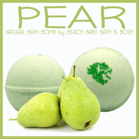 PEAR Natural Bath Bomb