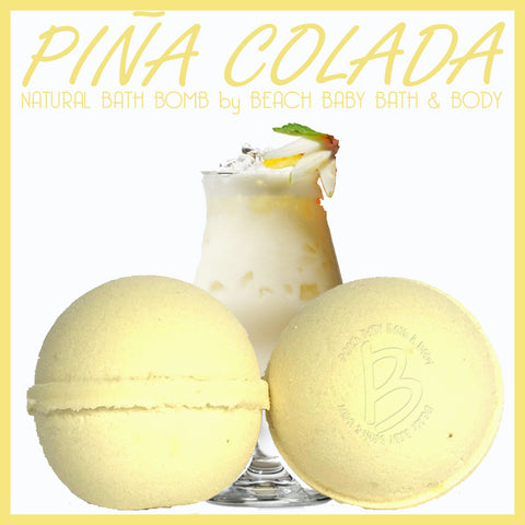 PIÑA COLADA Natural Bath Bomb