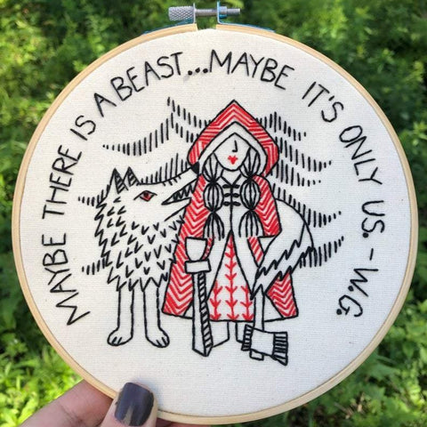 Red Riding Hood - Complete Embroidery Kit