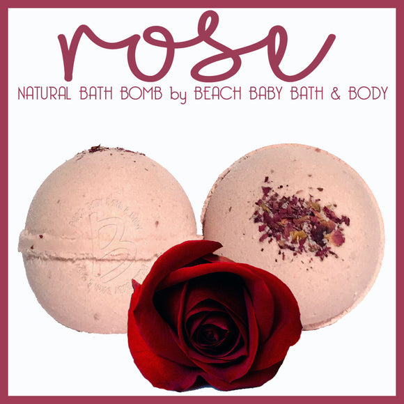 ROSE Natural Bath Bomb