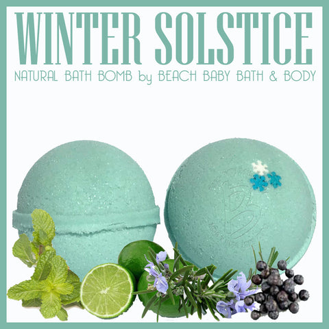 WINTER SOLSTICE Natural Bath Bomb