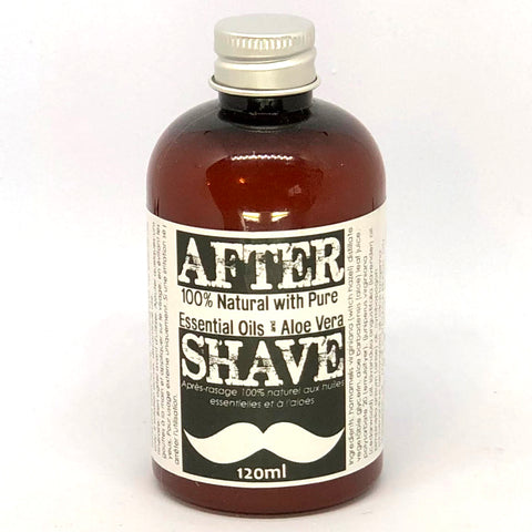Aftershave with Aloe Vera