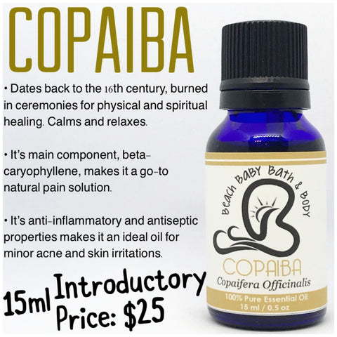 Cobaiba 100% Pure Essential Oil