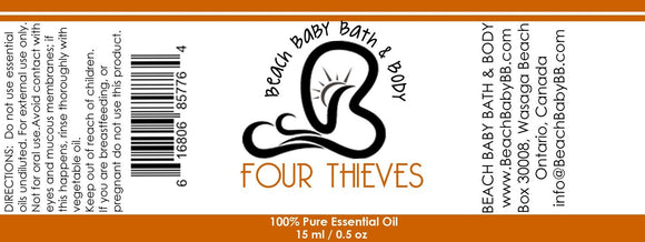 Four Thieves 100% Pure Essential Oil Blend