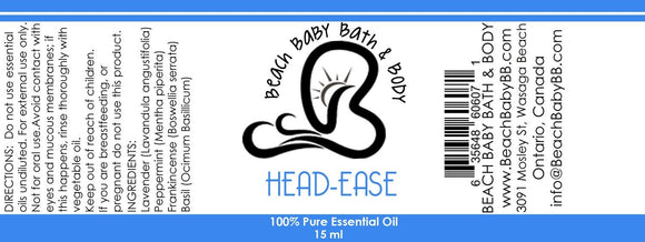 Head Ease 100% Pure Essential Oil Blend