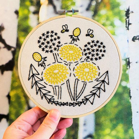 Bee Kind - Complete Embroidery Kit