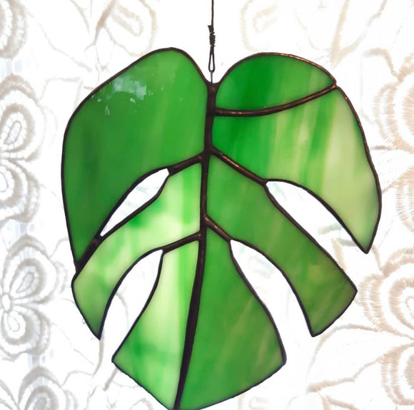 Stained Glass Monstera