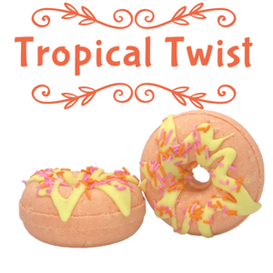 TROPICAL TWIST Bath Bomb Donuts
