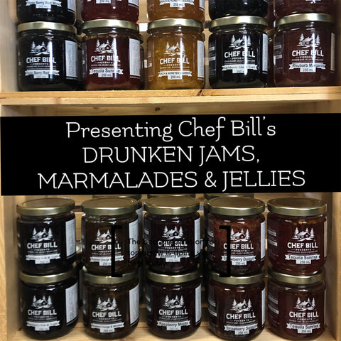 Chef Bill's Drunken Jams