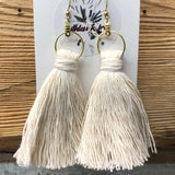 Macrame Tassle Earrings