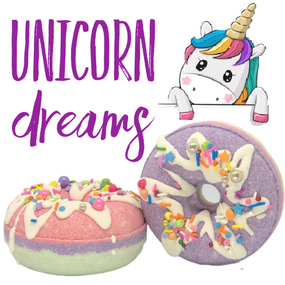 UNICORN DREAMS Bath Bomb Donut
