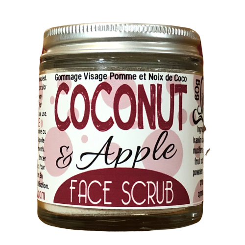 Apple & Oatmeal Facial Scrub