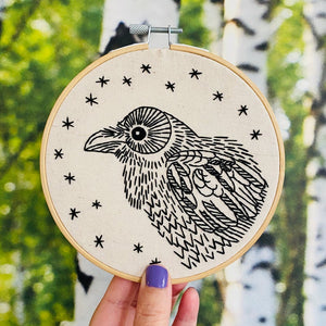 Nevermore - Complete Embroidery Kit