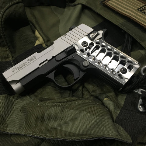 Sig Sauer P238 Grips: Cobra Skeleton (brushed)