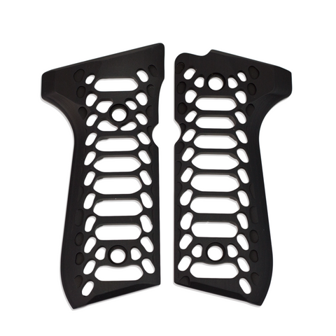COBRA SKELETON [Beretta 92/96 Series Grips] BLACK