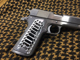 - COBRA SKELETON - Full Size 1911 Magwell Grips