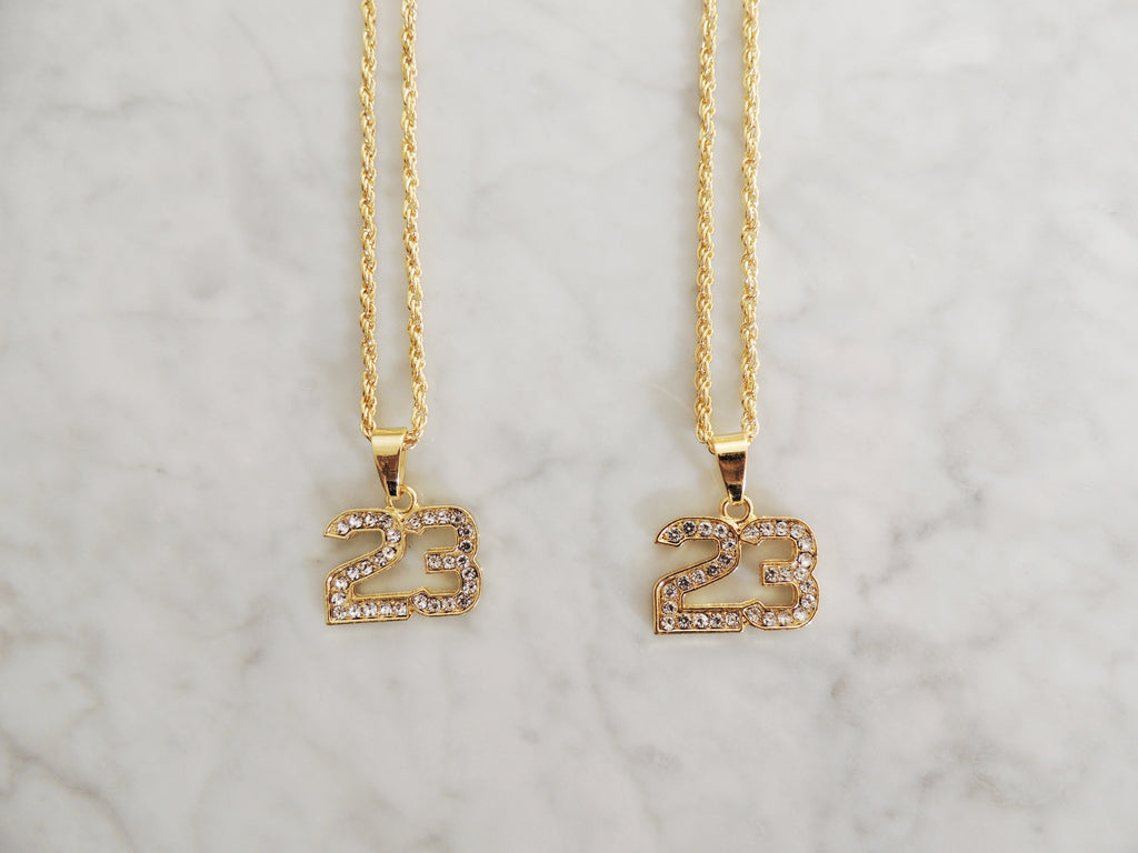 Iced 23 Necklace