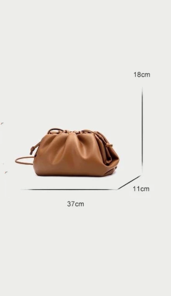Brown Crossbody Pouch